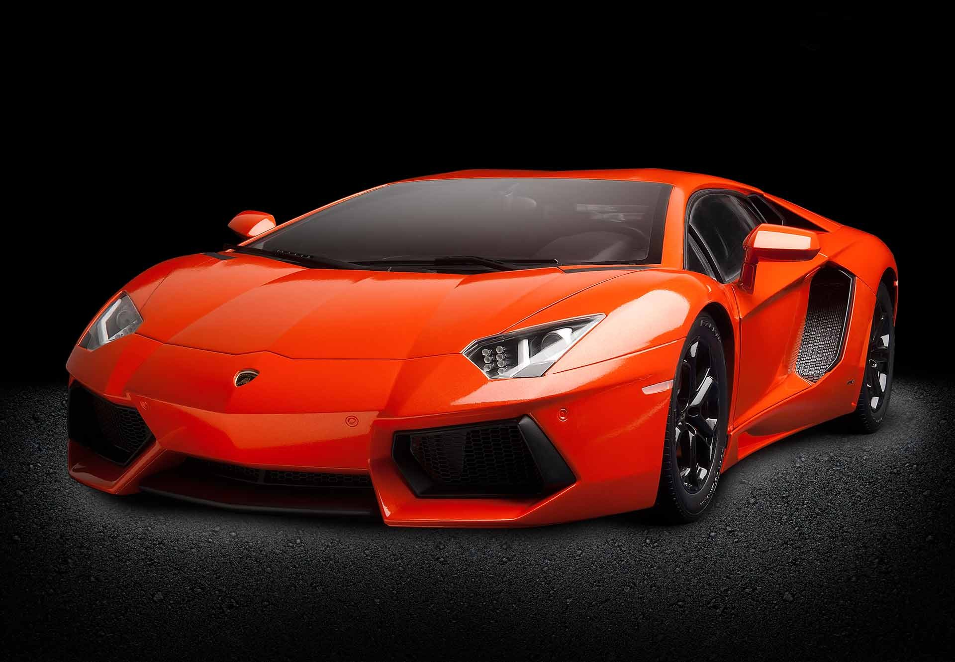 Pocher Lamborghini Aventador Orange Argos 1 8
